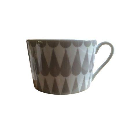 Cup - Pretty petal Grey
