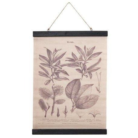 Botanic - wandhanger Wilg - grijs