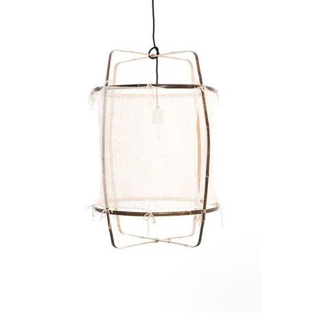 Hanglamp - Z1 - wit - zijden cover