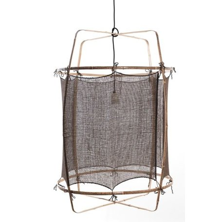 Lamp Z1 - zwart frame - handgeweven cover