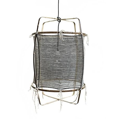 Lamp - Z11 - zwart -  zijde kasjmier cover