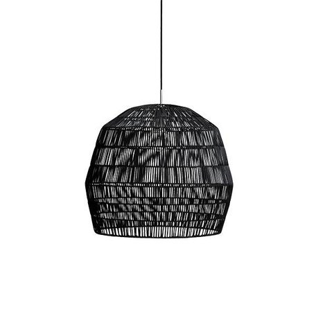Rattan lamp - Nama 2 - black
