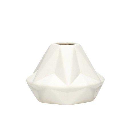 White vase - Diamond