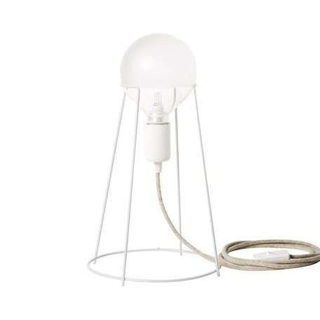 Tafellamp Agraffe wit