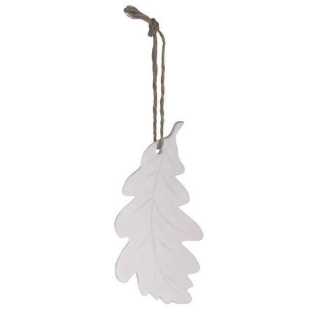 Eikenblad hanger wit