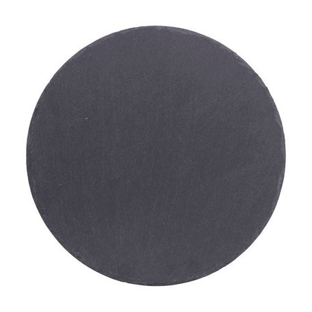 Round slate serving plate 25 cm
