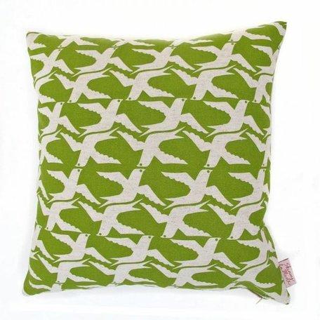 Cushion cover cloudbirds - apple