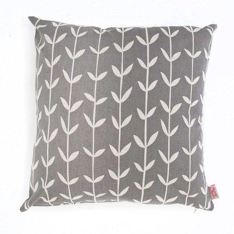 Cushion cover Solid Orla - grey