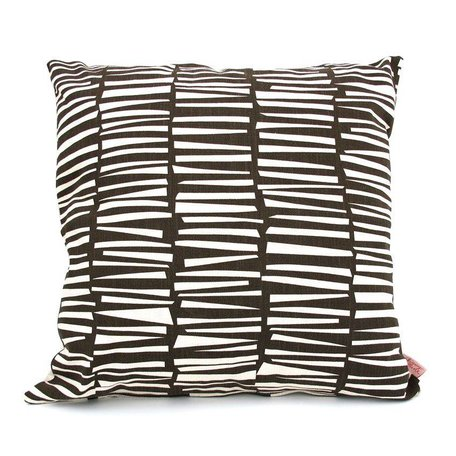 Cushion cover woodpile smudge