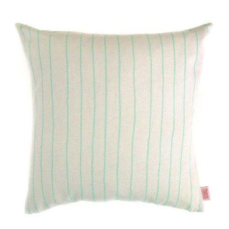 Cushion cover Simple stripe - mint