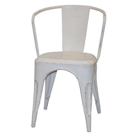 Cool chair - antique white