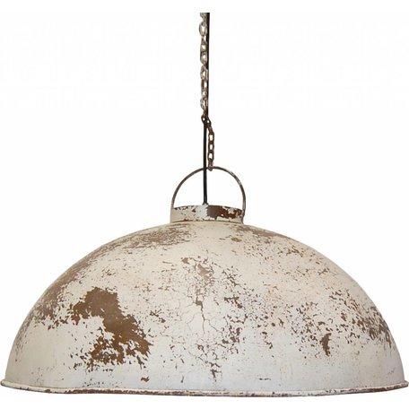Hanging lamp antique white