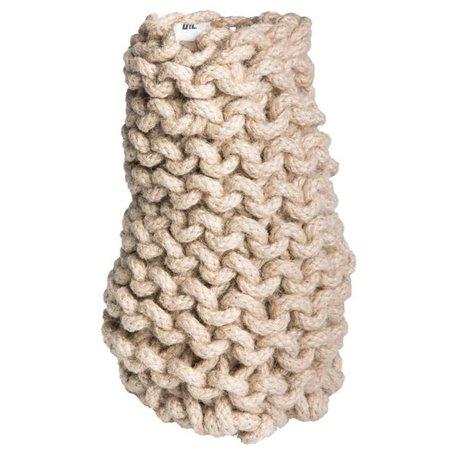 Crocheted vase Tribal Ø 11 cm