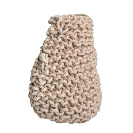 Crocheted vase Tribal Ø 15 cm