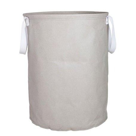 Papieren waszak - grijs