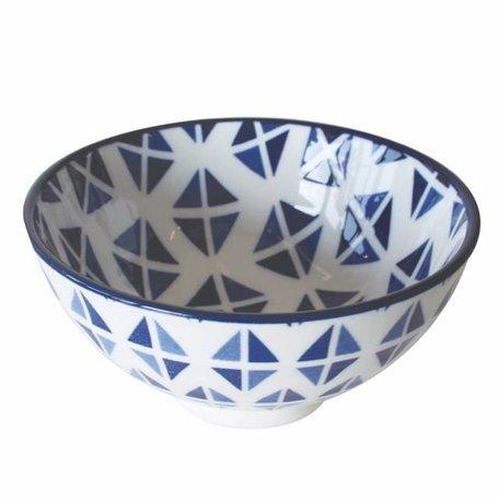 Schaaltje Beijing blauw wit Ø 10 cm