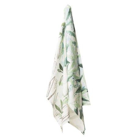 Tea towel sketch of nature