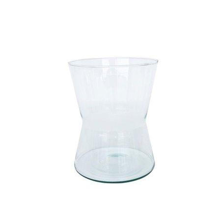 Vase Diablo - recycled glass