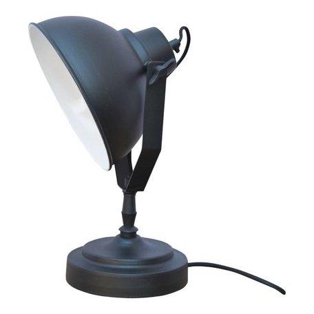 Tafellamp Urban - vintage zwart