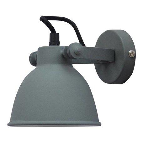 Wandlamp Industrial - vintage grijs