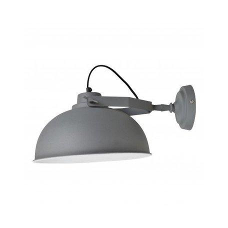 Wandlamp Urban - Ø 30 CM -  vintage grijs