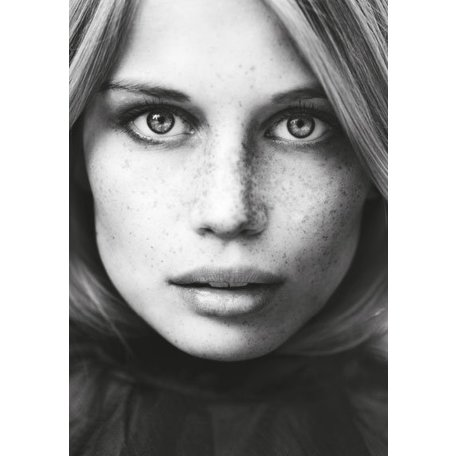 Model poster - Woman Face