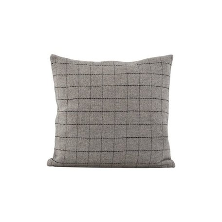 Cushion cover Square - grey