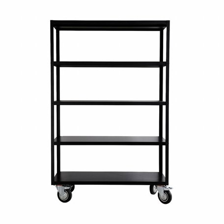 Trolley Rack - mat zwart
