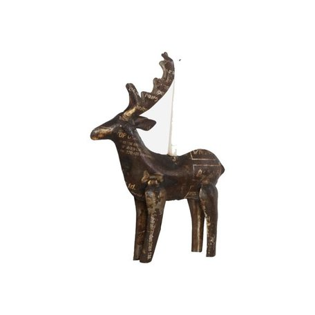 Reindeer candlestick - Large