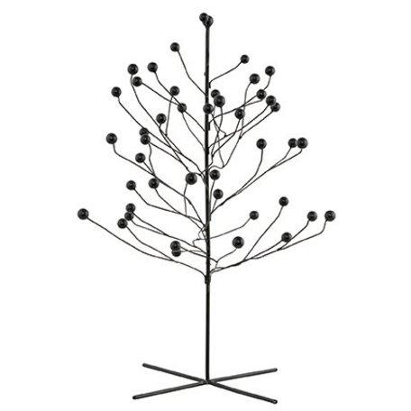 Ijzeren boom - zwart