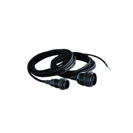 Lichtsnoer - E14 - zwart