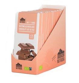 Tablet rijstmelkchocolade bio 12x100g