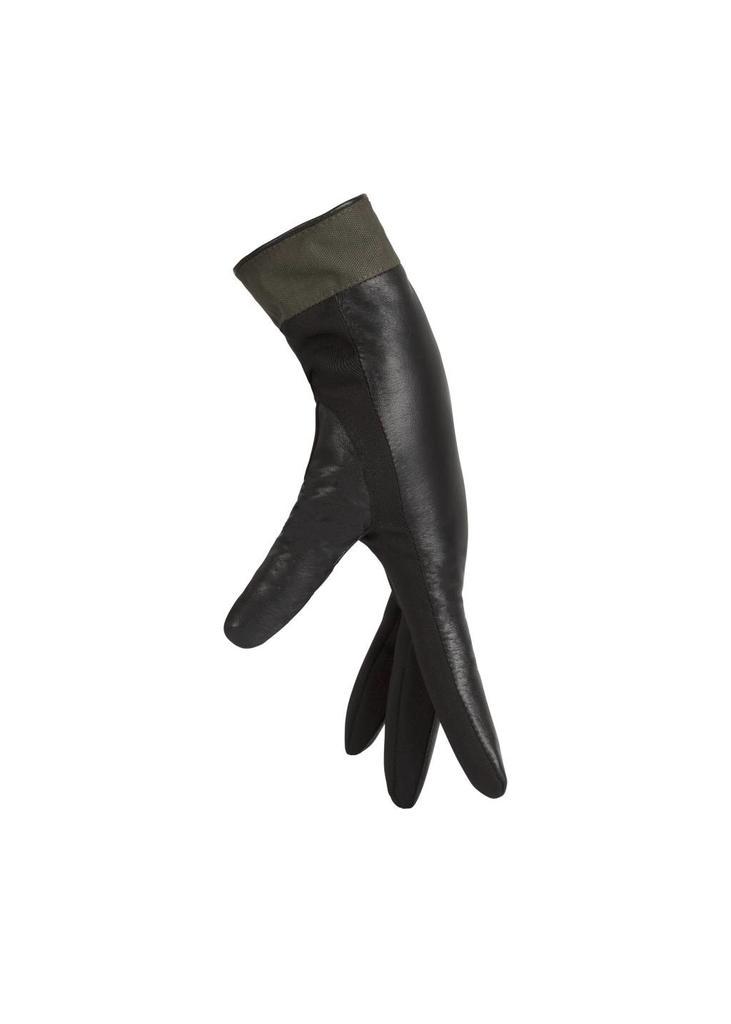 Waterproof Leather Gloves - Green