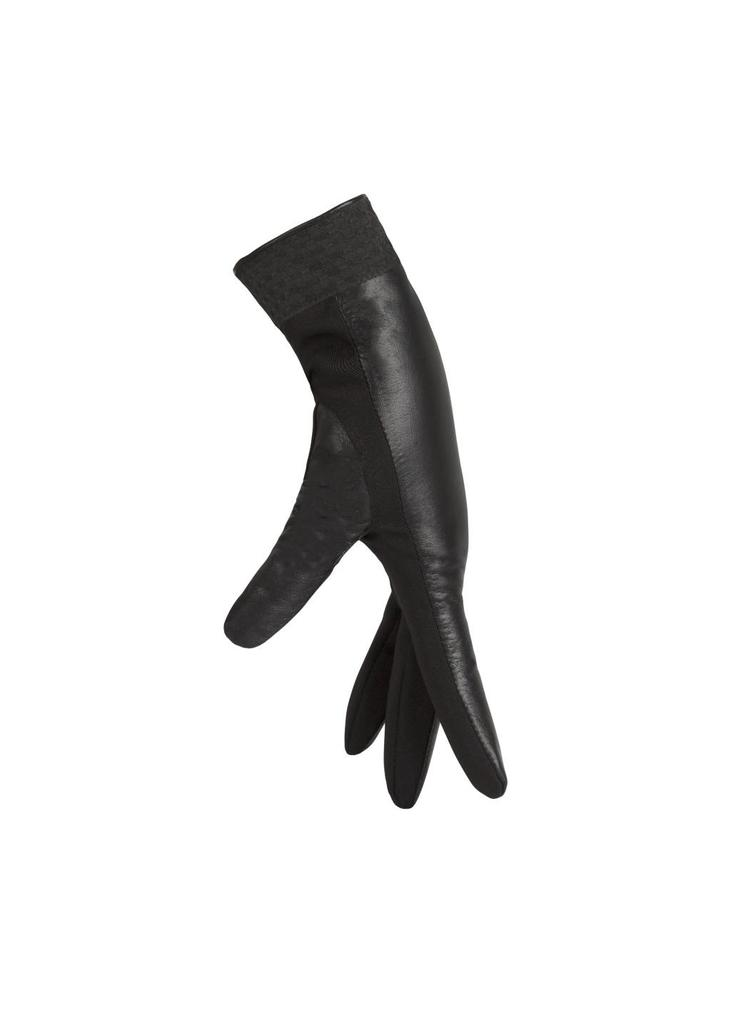 Waterproof Leather Gloves - Black