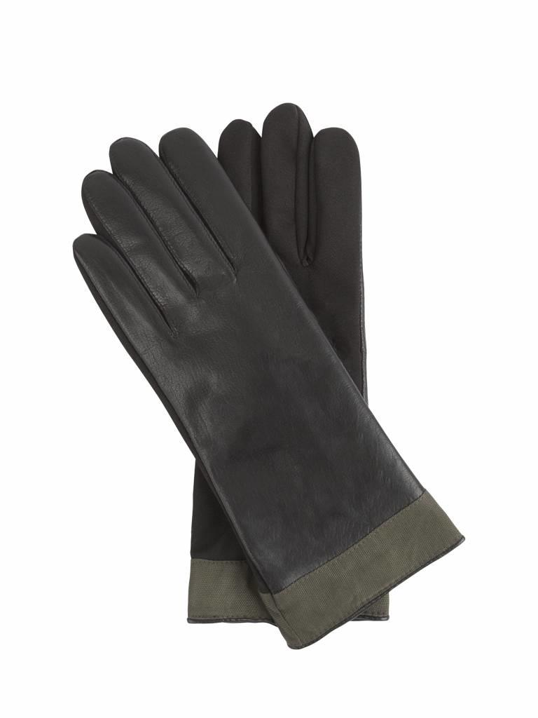 Waterproof Leather Gloves Green Rain Couture Amsterdam Glove Home