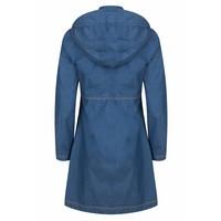Waterproof 4-pocket raincoat - Medium Denim