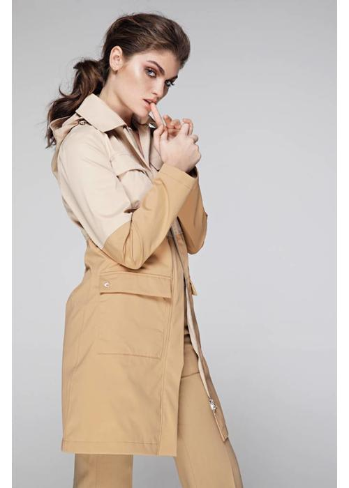 4-pocket raincoat - 2 Tone Beige