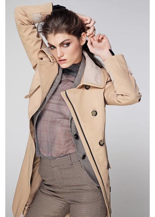 Rain Couture Regen Trenchcoat - Beige