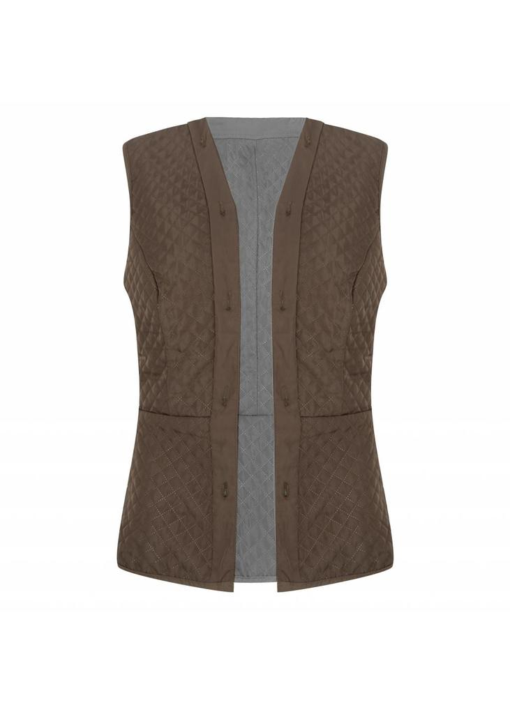 Additional Bodywarmer - Green-Grey