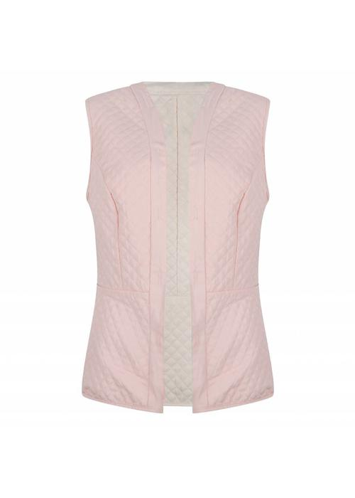 Rain Couture Reversible Bodywarmer -Pink/Beige
