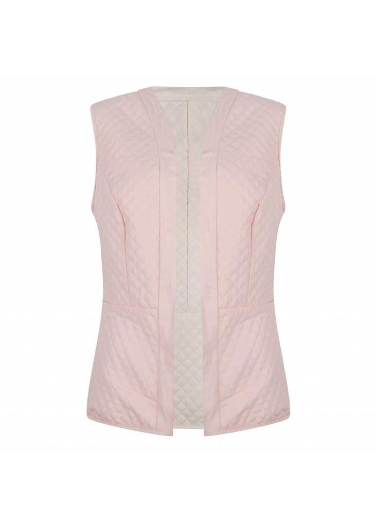 Additional Reversible Bodywarmer - Pink/Beige