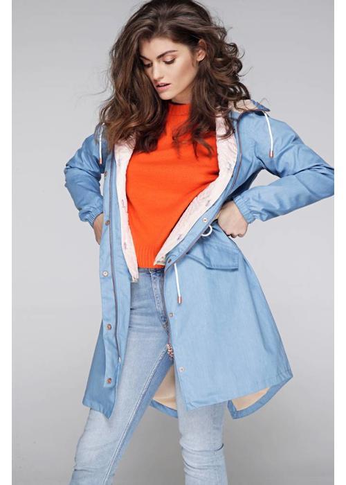 Rain Couture De Bodywarmer - Roze/Beige