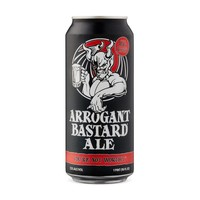 Stone Arrogant Basterd Ale blik