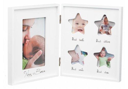 Fotolijst New Born voor 5 foto's - Hout