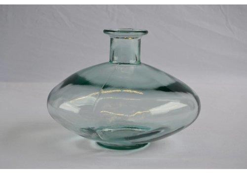 Mam's collection Heldere Glazen Vaas 'Aqua' UFO