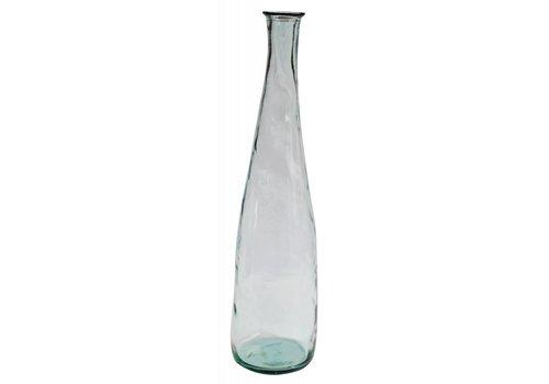 Mam's collection Lange Heldere Glazen Vaas 'Aqua'