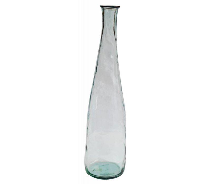 Lange Heldere Glazen Vaas 'Aqua'