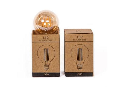 LED-Lamp 2W rond model, 160LUM 2300K