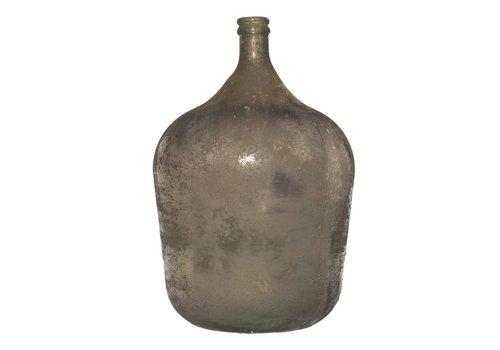 Mam's collection Vaas 'Garrafa Antic' in Bruin Antraciet - large