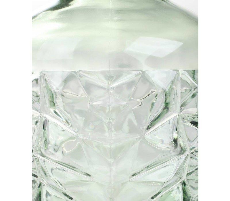 Vaas Facet Recycled glas Groen